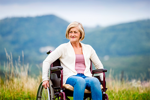 Getting Comfortable in a Wheelchair