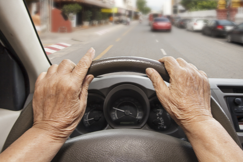 senior citizen driving car safety concern