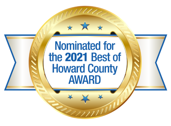 Best of Howard County badge